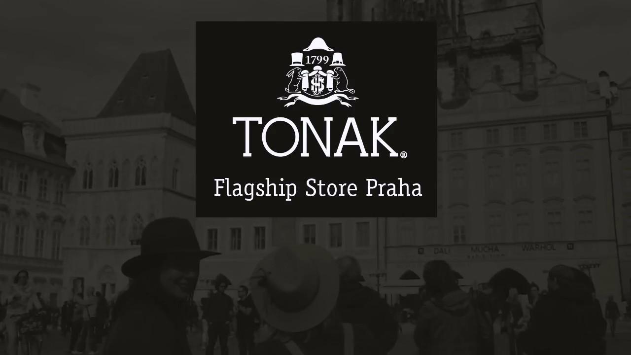 8eb0bdbd9f4 Tonak Flagship Praha - YouTube