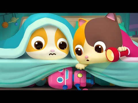 Bayi Kucing Timi Takut Dengan Monster Besar | Lagu Anak-anak | BabyBus Bahasa Indonesia