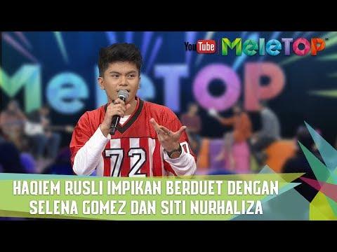 Haqiem Rusli impikan berduet dengan Selena Gomez dan Siti Nurhaliza