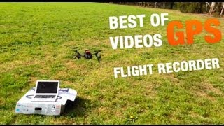 AR.Drone 2.0 Best Of GPS Flight Recorder