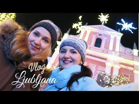 Unusual Christmas Market in Ljubljana, Slovenia