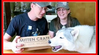 SMELLS LIKE BEER | Mitten Crate Unboxing #PureMichigan