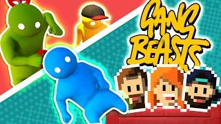 Gang Beasts Funny Moments | ACTION MOVIE! (Gang Beasts)