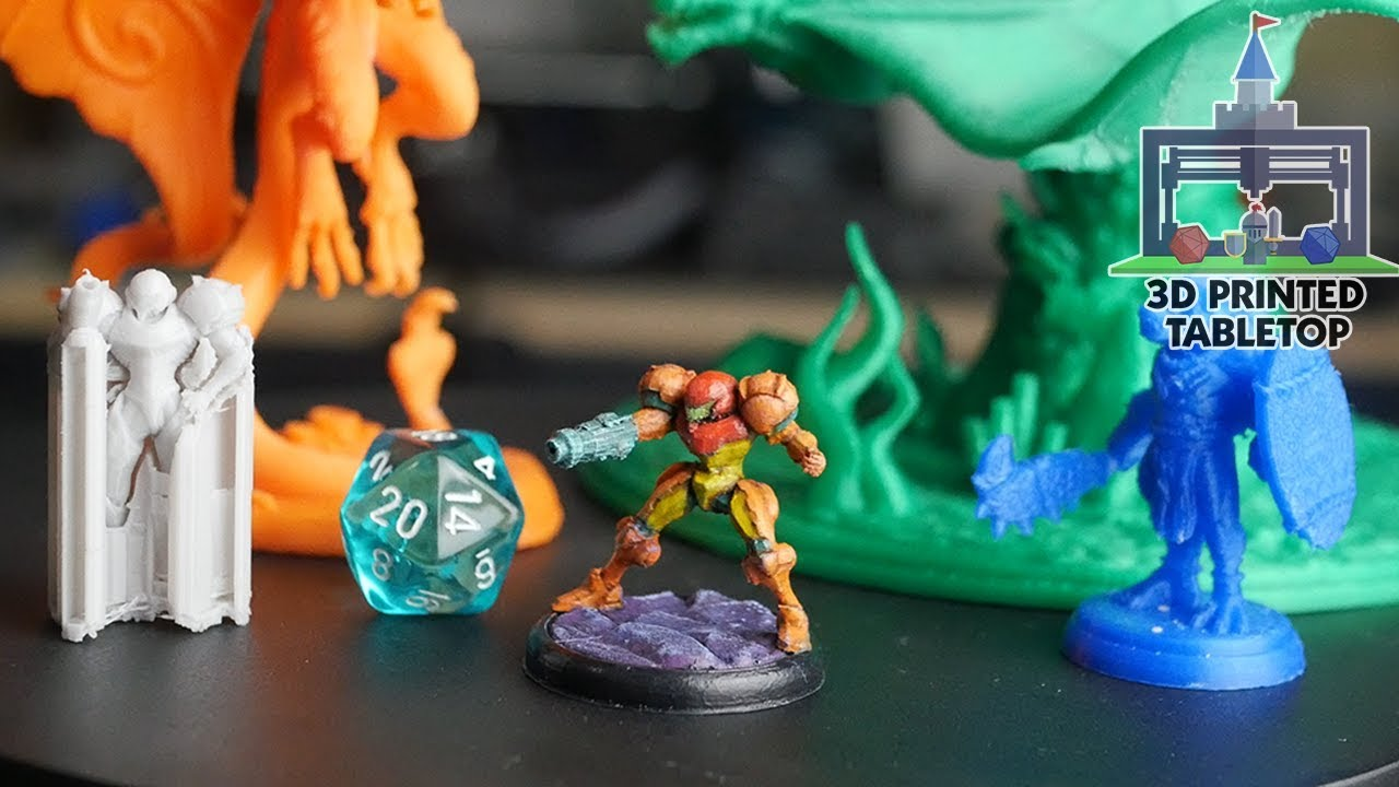photograph relating to Printable Minis D&d named Much easier Service Configurations for 3D Posted Miniatures (Printing The Activity #11)