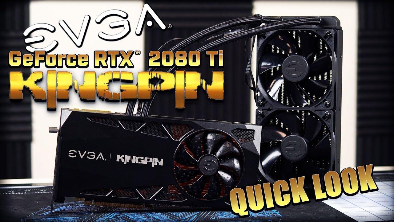 EVGA GeForce RTX 2080 Ti KingPin Gaming detailed - Graphics - News