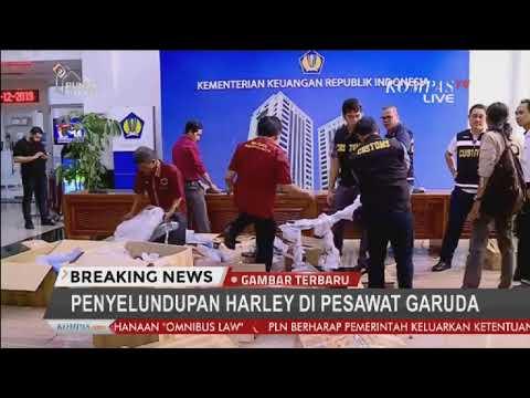 BREAKING NEWS - Menkeu dan Menteri BUMN Bicara Soal Penyelundupan Harley Davidson