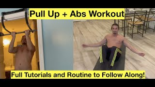 Pull Ups  + Ab Ripper X Full Total Body Workout | 30 Minute Pull Up + Ab Workout