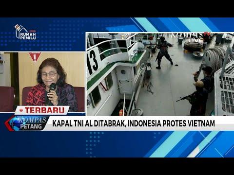 Kapal TNI AL Ditabrak di Natuna, Indonesia Ajukan Protes ke Vietnam