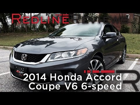 2014 Honda Accord Coupe V6 6 Speed U2013 Redline: Review   YouTube