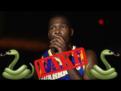 Angry Kevin Durant Calls WHOLE WORLD FAKE!