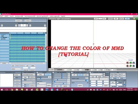 [MMD Tutorial] How To Change The Color Of MMD