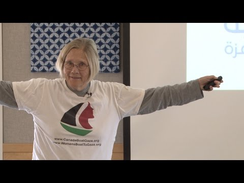 Colonel Ann Wright  Women's Boat to Gaza 693ProgramEdit