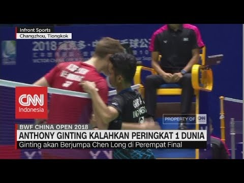 Ginting & Kevin/Markus Lolos Perempat Final | China Open 2018 Mp3