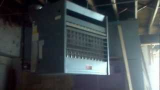 HVAC Skokie - Turning off the gas valve on a trane commercial furnace