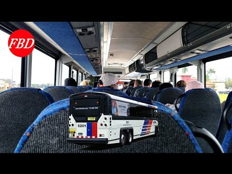2019-03-16 Riding A Metro Shuttle To The 2019 Rodeo | From East I-10 To 610 Loop NRG Stadium