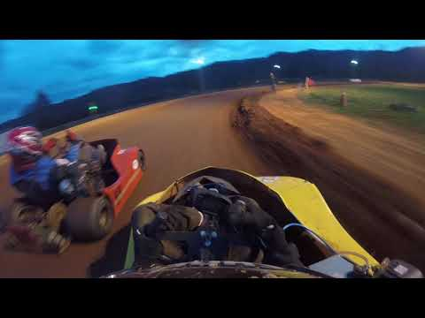 Bear ridge speedway backwards race
