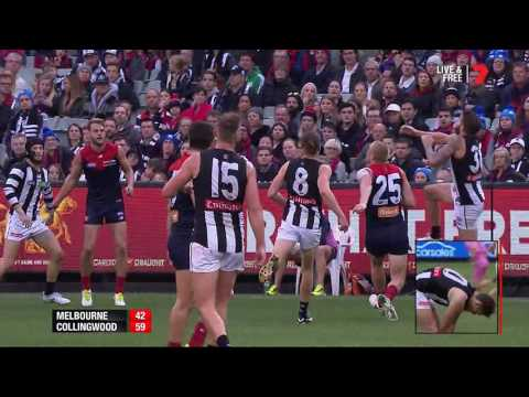 Rd 12: Highlights - Melbourne v Collingwood