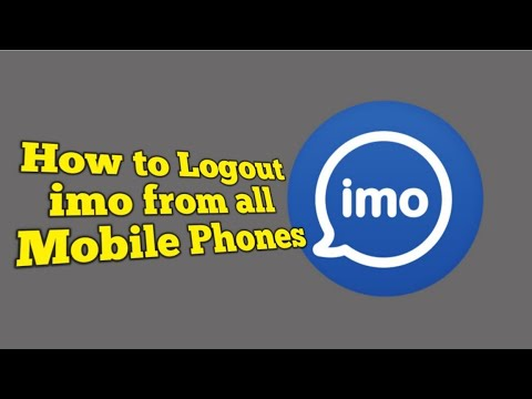Logout Imo From all Phones