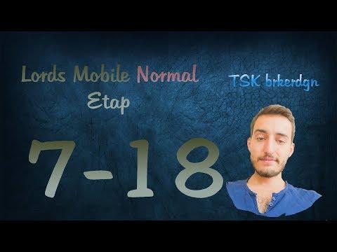 Lords Mobile Normal Etap 7-18