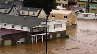 Record flooding in parts of West Virginia thumbnail