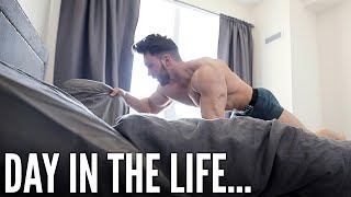 DAY IN THE LIFE OF AN AMATEUR BODYBUILDER (My Routine)