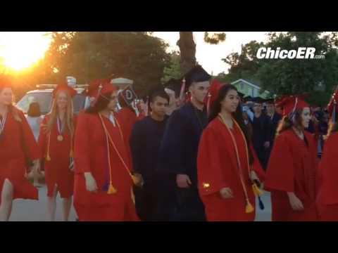 Las Plumas High School graduates are walking onto the field now! #classof2016