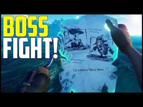 Sea of Thieves Gameplay - Part 8: NEW Boss Fights & Bounty Skulls! (Xbox One/PC)
