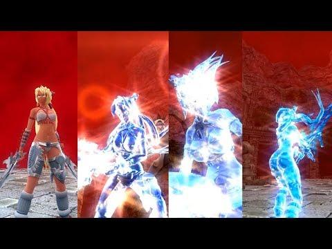 X-Blades ASFR - Ayumi Frozen Ryona 固め 凍結 |
