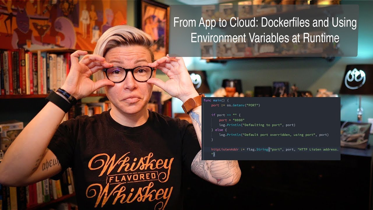 Containers 101 with Jessica Deen: Dockerfiles and Using Environment Variables at Runtime