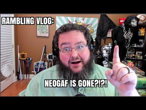 Rambling Vlog: Losing Weight Again, Neogaf is GONE