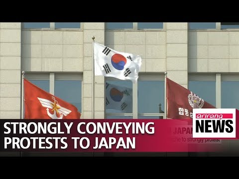 S. Koreas defense ministry summons Japanese military attache to convey its strong protests