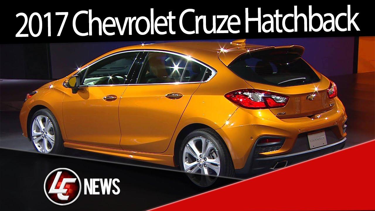 Cool 2017 Chevrolet Cruze Hatchback Sport 6  2016 Detroit Auto