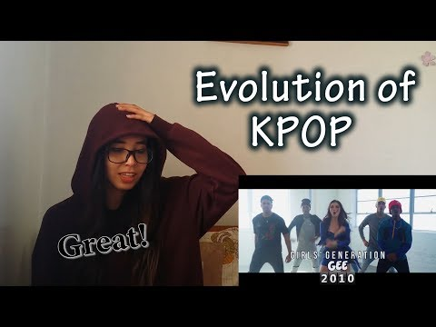 Evolution of K-POP!! (ft. Alyson Stoner & Next Town Down)   REACTION