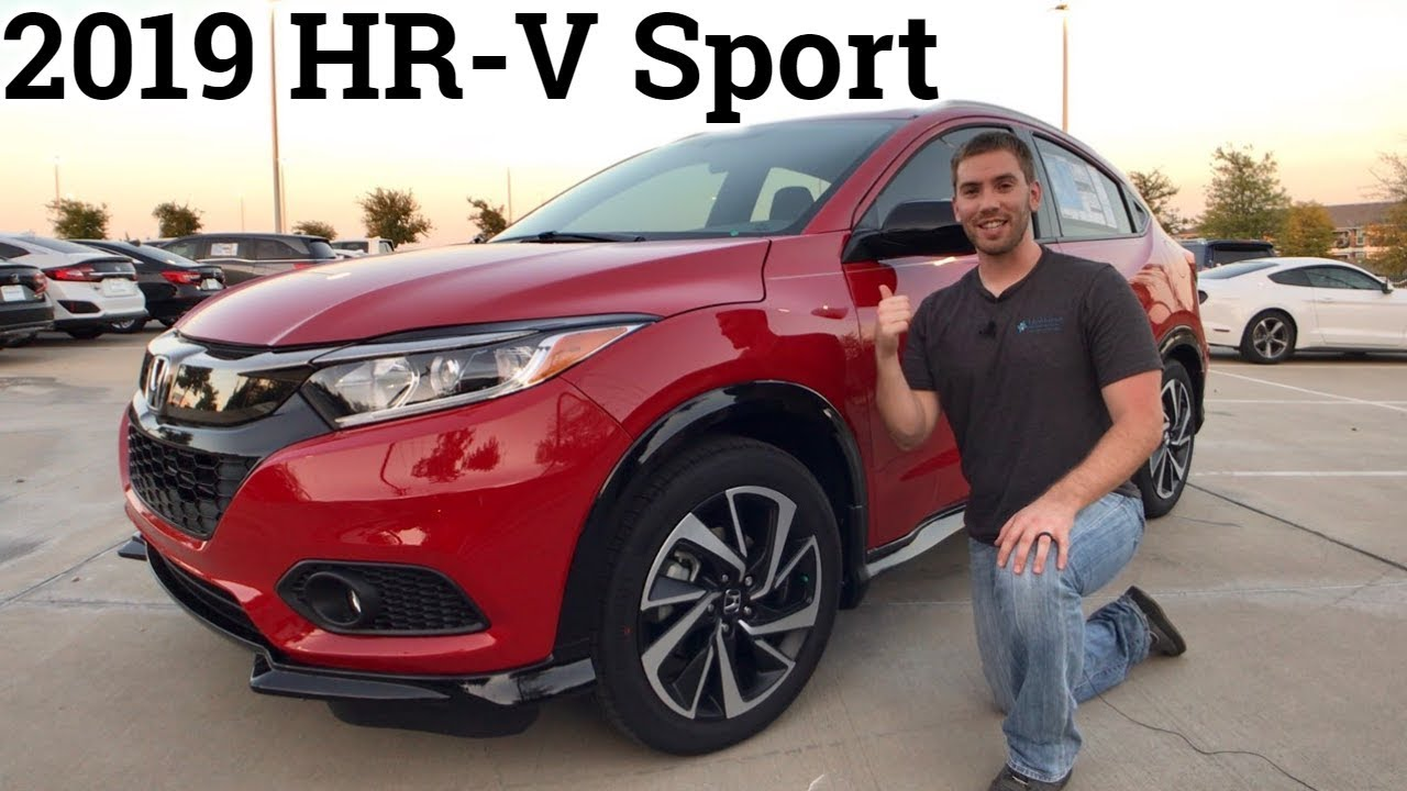 Honda Hrv Avis Full Review Refreshed 2019 Honda Hr V New Sport Touring Trims