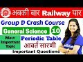 12:00 PM - Group D Crash Course | GS by Shipra Ma'am | Day#10 | Periodic Table ( Most Imp. Topic )