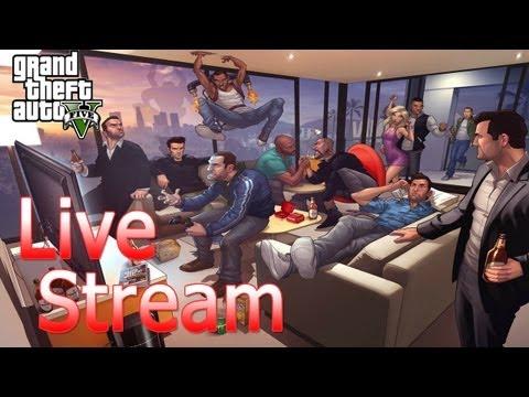 GTA V - Online Live Stream - Sh4dowfox007