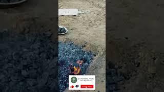 कंडे पर गाँव वाली बाटी बनाने का तरीका | Bati recipe without oven | Bati Party | Panchkul Agri