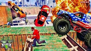GTA 5 Greatest Team Deathmatch Ever Played! AMAZING Destruction Derby Mayhem (GTA 5 Funny Moments)