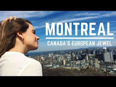 Exploring Montreal / Canada's Top French City