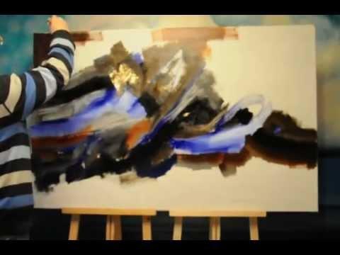 Abstract Painting. Abstrakte Malerei.Peinture abstraite.抽象绘画.抽象画.AVI
