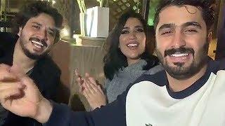 مصطفى حجاج يغني لدكتوره خلود وامين يا منعنع 😍