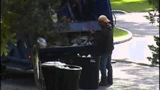 Garbage man and Panty Hose