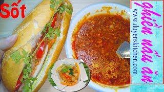 Cách Nấu NƯỚC SỐT XÁ XÍU Chan Xôi mặn, Bánh Mì By Duyen's Kitchen | Ghiền Nấu Ăn