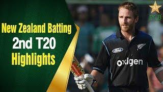 Pakistan A vs New Zealand A | 2nd T20 Highlights | New Zealand Batting | PCB