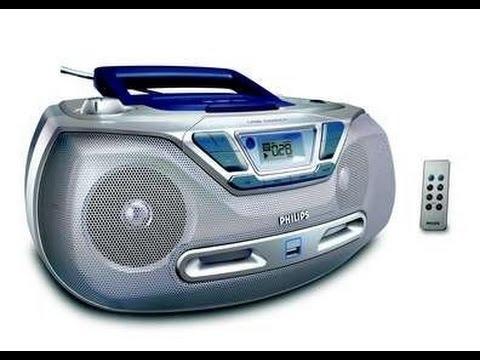 Philips AZ1830/12 CD Soundmachine Wma/Mp3 playback USB