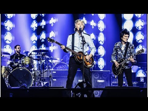 Beatles REUNION, Paul McCartney & Ringo Starr feat Ronnie Wood