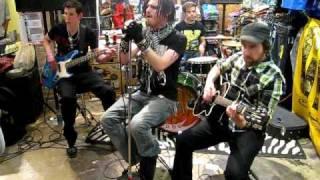 Burn by Givensix, Live at Hot Topic