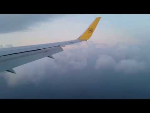 Landing Seychellen - Mahe International Airport