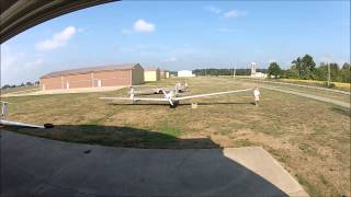 Ask-14 Motor Glider Assembly