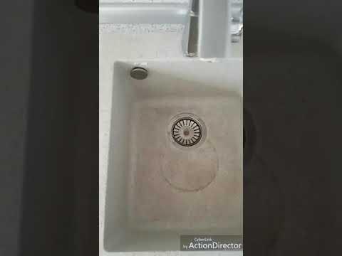 Как легко отмыть мойку из искусственного камня